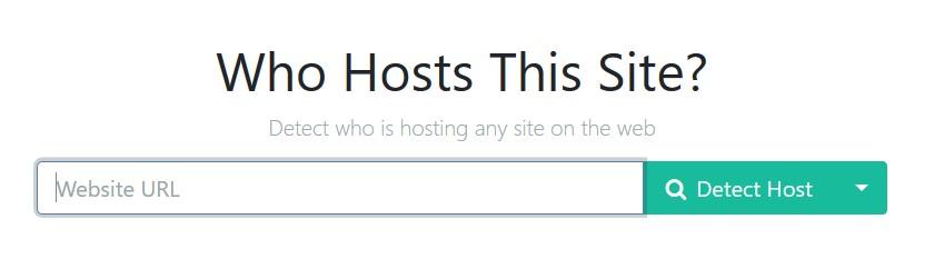 Ako zistiť u ktorej hosting spoločnosti je www stránka